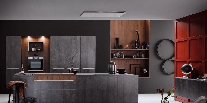 Cuisine AV8000 façade métal Ancenis
