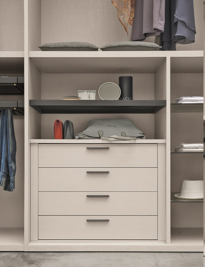 Dressing sur mesure - meuble de rangement tiroir - ÉMÉA Ancenis