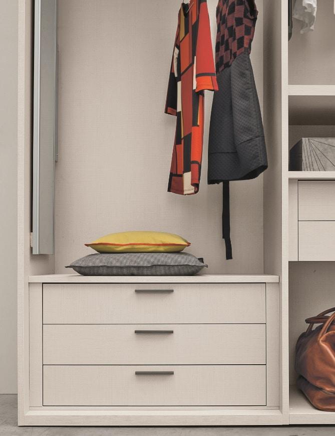 Dressing sur mesure - chambre tiroir et penderie - ÉMÉA Ancenis