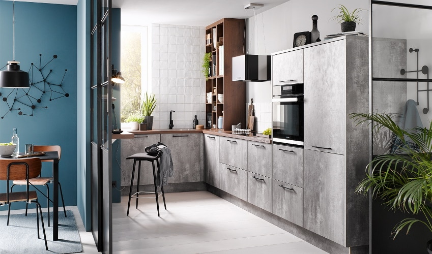 Cuisine sur mesure style beton Ancenis
