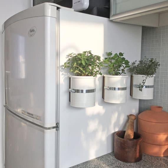 Pots végétales magnétiques